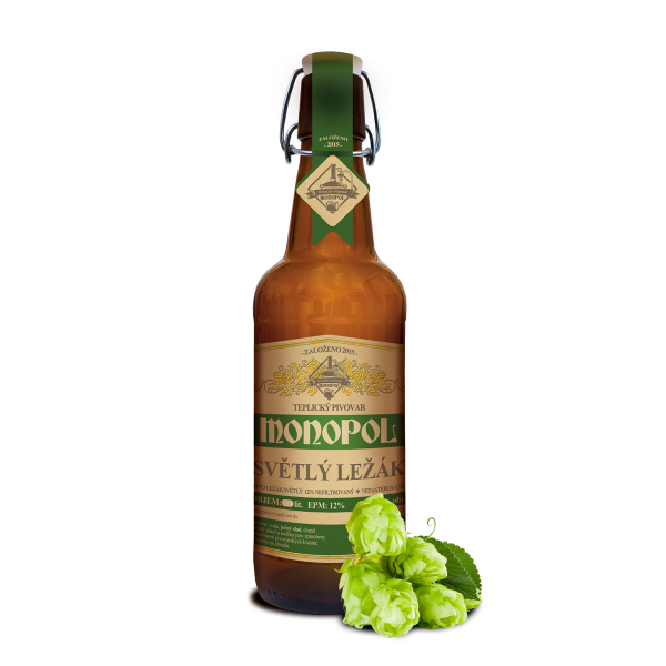 Monopol pale lager 12°